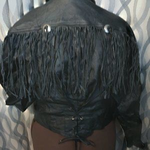 Cosa Nova Leather Motorcycle Riding Jacket